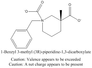 CAS 1234576-85-2 1-Benzyl 3-methyl (3R)-piperidine-1,3-dicarboxylate