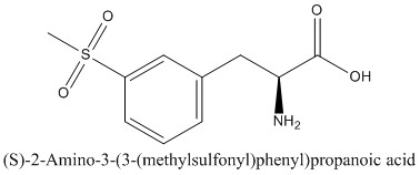 CAS 1270093-99-6 (S)-2-Amino-3-(3-(methylsulfonyl)phenyl)propanoic acid
