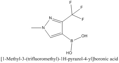 CAS 1138450-30-2 [1-Methyl-3-(trifluoromethyl)-1H-pyrazol-4-yl]boronic acid