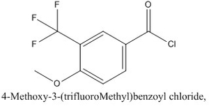 CAS 98187-18-9 4-Methoxy-3-(trifluoroMethyl)benzoyl chloride,