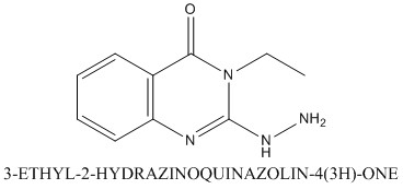 CAS 86662-57-9 3-ETHYL-2-HYDRAZINOQUINAZOLIN-4(3H)-ONE