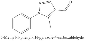 CAS 98700-50-6 5-Methyl-1-phenyl-1H-pyrazole-4-carboxaldehyde