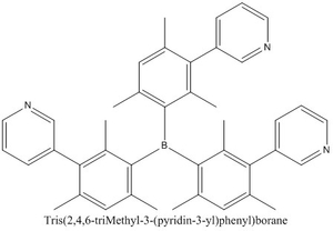 CAS 929203-02-1 Tris(2,4,6-triMethyl-3-(pyridin-3-yl)phenyl)borane