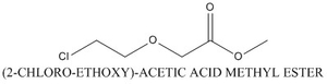 CAS 83881-47-4 (2-CHLORO-ETHOXY)-ACETIC ACID METHYL ESTER