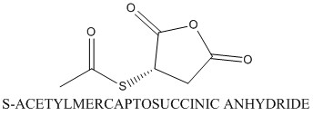 CAS 6953-60-2 S-ACETYLMERCAPTOSUCCINIC ANHYDRIDE