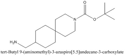CAS 1281872-56-7 tert-Butyl 9-(aminomethyl)-3-azaspiro[5.5]undecane-3-carboxylate