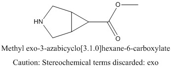 CAS 1024038-72-9 Methyl exo-3-azabicyclo[3.1.0]hexane-6-carboxylate
