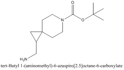 CAS 1163729-53-0 tert-Butyl 1-(aminomethyl)-6-azaspiro[2.5]octane-6-carboxylate
