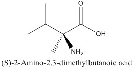 CAS 53940-83-3 (S)-2-Amino-2,3-dimethylbutanoic acid
