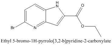 CAS 1255098-82-8 Ethyl 5-bromo-1H-pyrrolo[3,2-b]pyridine-2-carboxylate