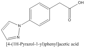 CAS 65476-24-6 [4-(1H-Pyrazol-1-yl)phenyl]acetic acid