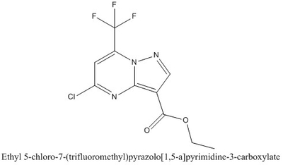 CAS 1260243-50-2 Ethyl 5-chloro-7-(trifluoromethyl)pyrazolo[1,5-a]pyrimidine-3-carboxylate