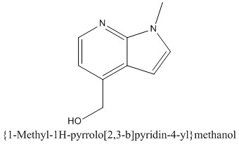 CAS 1268516-15-9 {1-Methyl-1H-pyrrolo[2,3-b]pyridin-4-yl}methanol