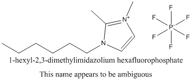 CAS 653601-27-5 1-hexyl-2,3-dimethylimidazolium hexafluorophosphate