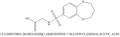 CAS 790272-41-2 (3,4-DIHYDRO-2H-BENZO[B][1,4]DIOXEPINE-7-SULFONYLAMINO)-ACETIC ACID