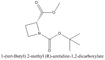 CAS 1260593-39-2 1-(tert-Butyl) 2-methyl (R)-azetidine-1,2-dicarboxylate