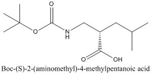 CAS 828254-18-8 Boc-(S)-2-(aminomethyl)-4-methylpentanoic acid