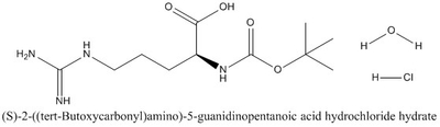 CAS 114622-81-0 (S)-2-((tert-Butoxycarbonyl)amino)-5-guanidinopentanoic acid hydrochloride hydrate