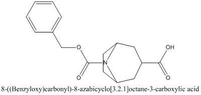 CAS 1159822-23-7 8-((Benzyloxy)carbonyl)-8-azabicyclo[3.2.1]octane-3-carboxylic acid