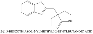 CAS 923716-18-1 2-(1,3-BENZOTHIAZOL-2-YLMETHYL)-2-ETHYLBUTANOIC ACID