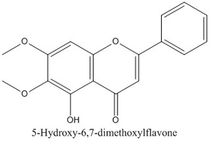 CAS 740-33-0 5-Hydroxy-6,7-dimethoxylflavone
