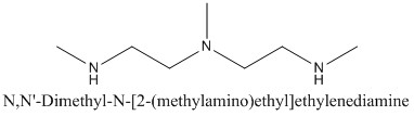 CAS 105-84-0 N,N'-Dimethyl-N-[2-(methylamino)ethyl]ethylenediamine