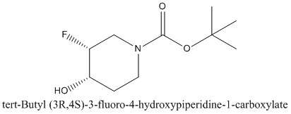 CAS 1174020-42-8 tert-Butyl (3R,4S)-3-fluoro-4-hydroxypiperidine-1-carboxylate
