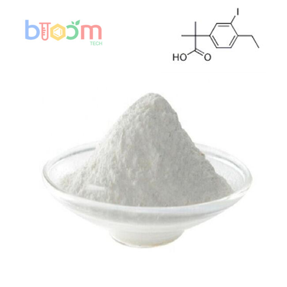 CAS 1256584-73-2 2-(4-Ethyl-3-iodophenyl)-2-methylpropanoic acid