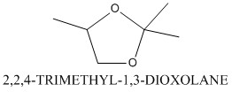 CAS 1193-11-9 2,2,4-TRIMETHYL-1,3-DIOXOLANE